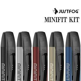 ミニフィット JUSTFOG minifitジャストフォグ フォグワンメーカー コンパクト 電子タバコ スターターキット リキッドフィット vape 本体 ゆうパケット送料無料 [P-2]