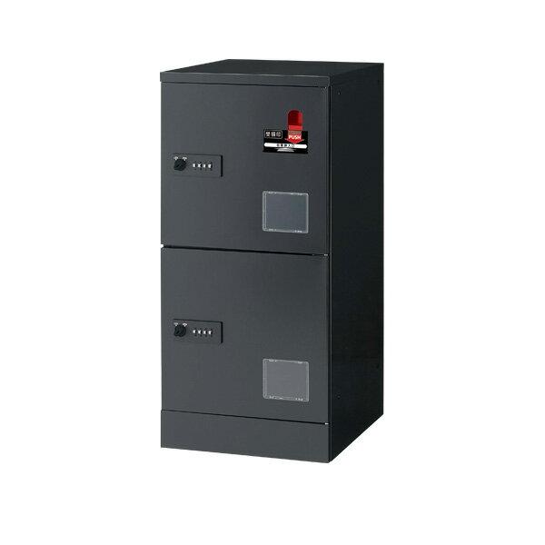 ジョインテックス 宅配用ロッカー 2段受領印付 JTB-L12SD