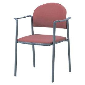 生興 ミーティングチェアー MC-800シリーズ 肘付 紛体塗装脚 布張り MC-802F [会議イス ミーティングチェア 学校 体育館 公民館 チェア いす 椅子 集会場 業務用 会議用椅子 会議椅子 会議室 オフィス家具 スタッキングチェア]
