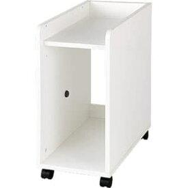 Garage パソコン収納 パソコンワゴン YY-035PC 白 ホワイト [白色 キャビネット デスク デスク収納 ワゴン 脇机 収納家具 オフィス収納 オフィス家具 オフィス用 オフィス用品]