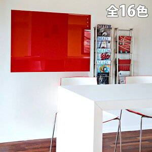 Garage チャットボード 90×120cm CHAT120 [ ガラス製ホワイトボード ガラスボード ホワイトボード CHAT board ]
