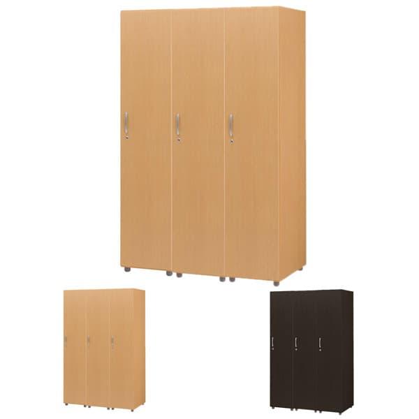 木製ロッカー 3人用 FJLS [ロッカー 本棚 収納家具 オフィス用品 オフィス用 オフィス家具 オフィス収納 会社 企業向け 施設用 木製 ハイテクウッド]