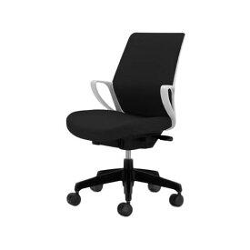 コクヨ(KOKUYO) オフィスチェア ミドルバック picora(ピコラ) CR-G530E1-W [事務用チェア オフィス用品 オフィス用 オフィス家具 チェア 椅子 イス 事務椅子 デスクチェア パソコンチェア スタンダード 高機能 PICORA ピコラ]