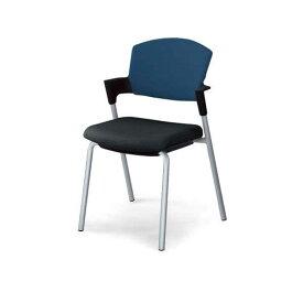 コクヨ(KOKUYO) ミーティングチェア Protty(プロッティ) CK-587-2 [会議イス 学校 体育館 公民館 チェア いす 椅子 集会場 業務用 会議用椅子 会議椅子 会議室 オフィス家具 オフィス用 オフィス用品 スタッキングチェア]