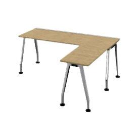 コクヨ(KOKUYO) L型デスク SAIBI(サイビ) W1800×D1600×H720mm SD-XE18716AS81【別途 組立費必須】 [ワーキングテーブル ワークテーブル テーブル ミーティングテーブル 長方形 オフィス家具 会議テーブル 会議用テーブル 会議机 オフィステーブル]