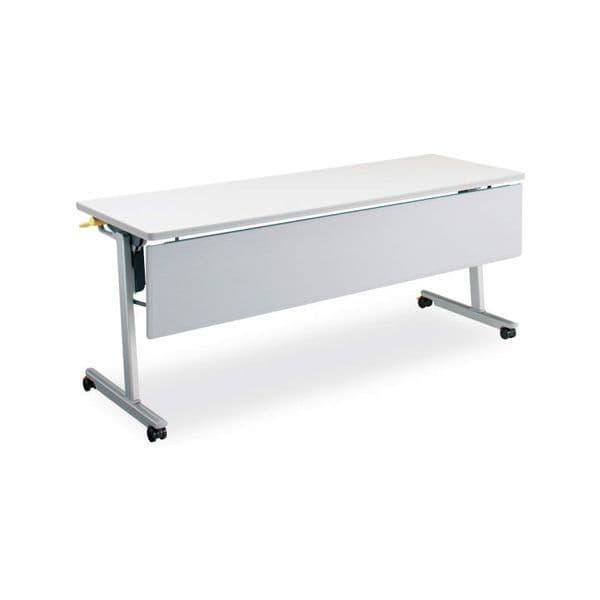 コクヨ(KOKUYO) ミーティングテーブル フォールディングテーブル LISMA(リスマ) W1800×D600×H720mm KT-P1101 [会議用テーブル 会議テーブル 会議用デスク 会議デスク 折りたたみテーブル 休憩室 食堂 テーブル 跳ね上げ式テーブル]