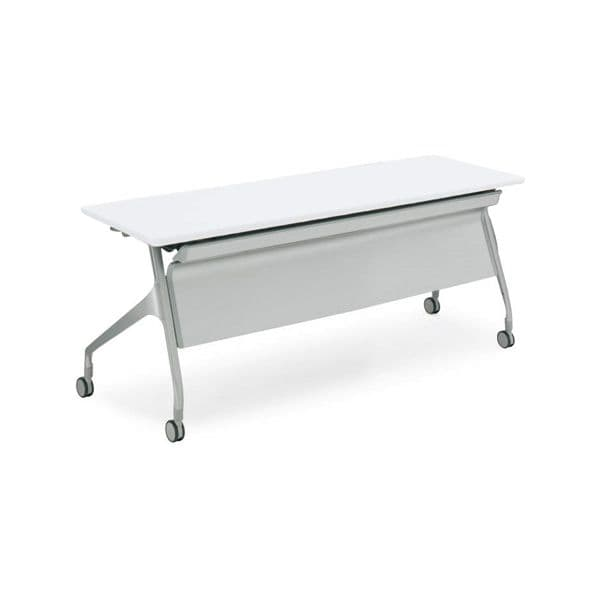 コクヨ(KOKUYO) ミーティングテーブル フォールディングテーブル EPIPHY(エピファイ) W1800×D600×H720mm KT-PS1001 [会議用テーブル 会議テーブル 会議用デスク 会議デスク 折りたたみテーブル 休憩室 食堂 テーブル 跳ね上げ式テーブル]