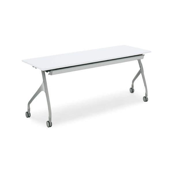 コクヨ(KOKUYO) ミーティングテーブル フォールディングテーブル EPIPHY(エピファイ) W1800×D600×H720mm KT-S1001 [会議用テーブル 会議テーブル 会議用デスク 会議デスク 折りたたみテーブル 休憩室 食堂 テーブル 跳ね上げ式テーブル]