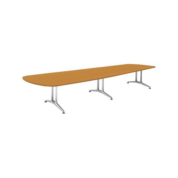 コクヨ(KOKUYO) ミーティングテーブル WT-200シリーズ W4000×D1550×H720mm WT-W222【別途 組立費必須】 [会議用テーブル 会議テーブル 会議用デスク 会議デスク 休憩室 食堂 オフィス用 会議室 ワーキングテーブル 作業テーブル 作業机 テーブル]