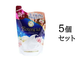 【まとめ買い5個セット】バウンシアボディソープ エアリーブーケの香り 詰替用 400mL