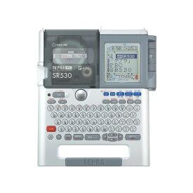 キングジム KING JIM ラベルライター 本体 TEPRA テプラ PRO SR530 本体 24mm 幅テープ対応 シルバー パソコン USB接続