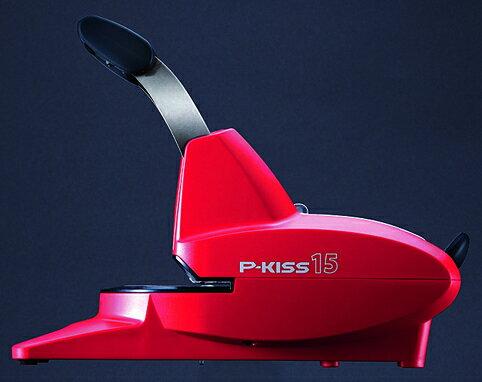 【送料無料】マックス<MAX> 紙針ホッチキス 「P-KISS(ピーキス)」 15枚とじ PH-15DS/R レッド(PH90002) 【RCP】