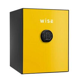 【開梱設置無料】【送料無料】ディプロマット WISEプレミアムセーフ(イエロー) WS500ALY