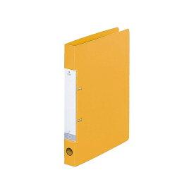 リヒトラブ リクエスト D型リングファイル G2220-5黄 A4 タテ型 収納枚数:コピー用紙230枚
