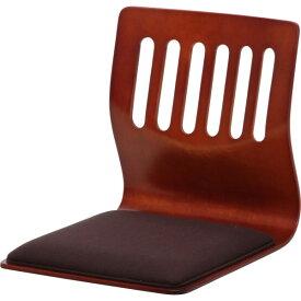 【メーカー欠品中 9月末入荷予定】不二貿易 和座いすクッション付き PY-307BS(PY307BS) BR ブラウン 10081【送料無料】