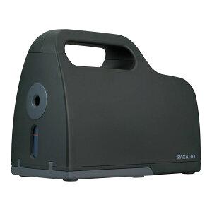 ナカバヤシ 充電式シャープナー PACATTO パカット ブラック 電動 鉛筆削り 鉛筆けずり 充電式 文具 事務用品 事務 NEK-101BK