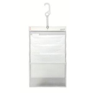 エセルテ Esselte ソーテッド 3段 A4 ホワイト 壁掛け 整理 ファイル 伸縮可能 インデックス付 アコブランズジャパン 生活用品 オフィス用品 22371