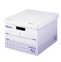 フェローズ バンカーズボックス<fellows Bankers Box> A4サイズ収納 703ボックス 青(703blue) 【3枚パック】#0970502 【RCP】
