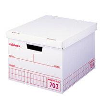 フェローズ バンカーズボックス<fellows Bankers Box> A4サイズ収納 703ボックス 赤(703red) 【3枚パック】#0970402 【RCP】