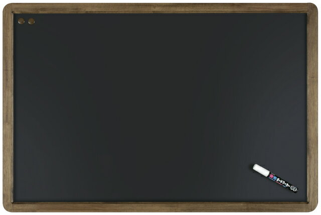 【メーカー欠品中 5月中旬入荷予定】レイメイ藤井(Raymay) アンティーク ブラックボード A1サイズ LNB700 蛍光ボードマーカー白1本付 【RCP