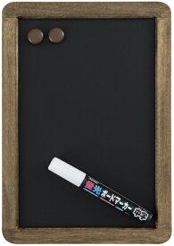 レイメイ藤井(Raymay) アンティーク ブラックボード A4サイズ LNB185 蛍光ボードマーカー白1本付 【RCP】