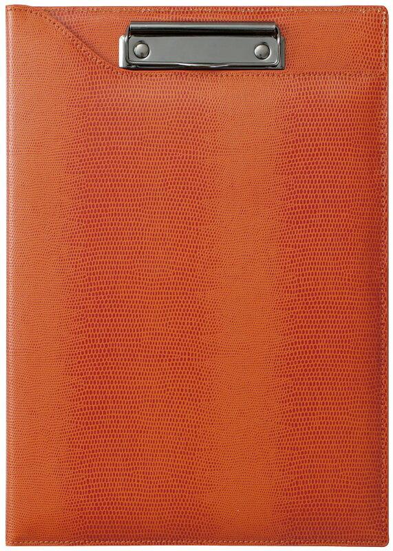 【ラッピング無料】 レイメイ藤井(Raymay) ツァイトベクター クロスペーパークリップファイル オレンジ ZVF290D A4サイズ