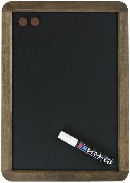 レイメイ藤井(Raymay) アンティーク ブラックボード A3サイズ LNB285 蛍光ボードマーカー白1本付 【RCP】