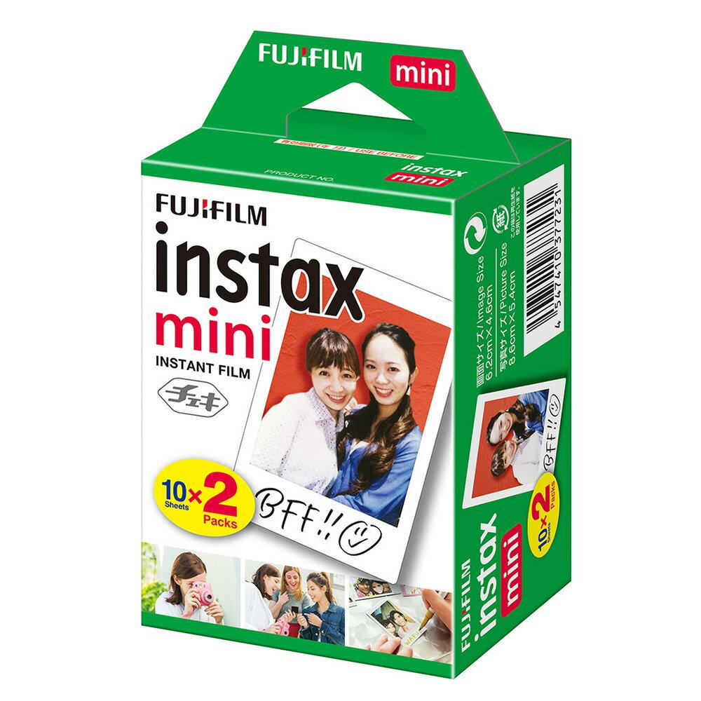 FUJIFILM<富士フイルム>インスタントカメラ チェキ専用 インスタントカラーフィルム instax mini 2パック INSTAX MINI JP2