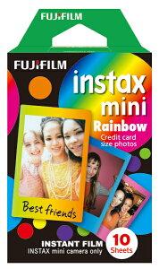 FUJIFILM<富士フイルム>チェキ用フィルム レインボー チェキフィルム INSTAXMINI RAINBOW WW1 【RCP】