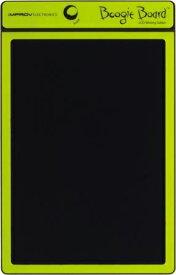 KING JIM<キングジム> 電子メモパッド Boogie Board(ブギーボード) 8.5インチLCD スタイラスホルダー、マグネットシート付 グリーン BB-1Nキミ 【RCP】