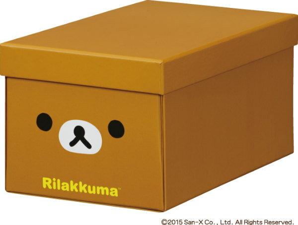 キングジム<KING JIM> リラックマ折りたたみ収納BOX S リラ4065RKリラ