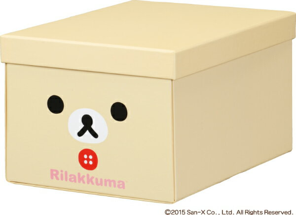 キングジム<KING JIM> リラックマ折りたたみ収納BOX M コリ4066RKコリ