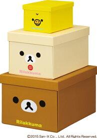 キングジム<KING JIM> リラックマ折りたたみ収納BOX 3サイズP 4060RK-3