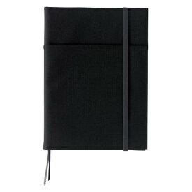 【メール便なら送料240円】 コクヨ<KOKUYO> SYSTEMIC<システミック> カバーノート(2冊収容・リングノートタイプ) セミB5サイズ(6号) ノ-683B-D 黒