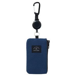 LIHIT LAB (リヒトラブ) ALCLEA パス&キーケース ネイビー A7922-11 用途別 収納小物 鍵 カギ ベルト カード 持ち運び