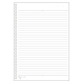 【メール便なら送料240円】LIHIT LAB.<リヒトラブ> ツイストリング・ノート(専用リーフ・A5横罫B罫) N1650(N-1650)