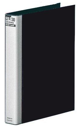 マルマン ダブロック メタルバインダー A4 30穴 黒 F949R-05 【RCP】