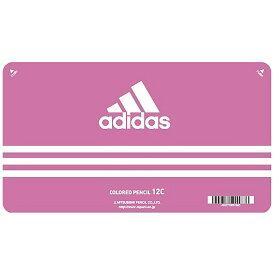 【メール便なら送料180円】三菱鉛筆adidas<アディダス>色鉛筆880 12色 AI ピンク