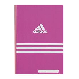【メール便なら送料180円】三菱鉛筆adidas<アディダス>7mmA罫ノート AI ピンク