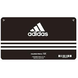 【メール便なら送料180円】三菱鉛筆adidas<アディダス>色鉛筆880 12色 AI 黒