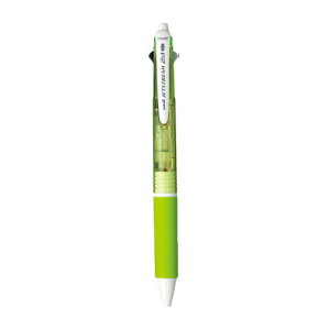 ジェットストリーム 多機能ペン [黒/赤+シャープペンシル] 0.7mm 緑 MSXE3-500-07