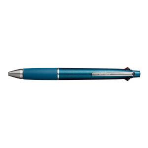 【メール便なら送料290円】三菱鉛筆 ジェットストリーム4&1 多機能 0.5mm 極細 ティールブルー MSXE510005.39