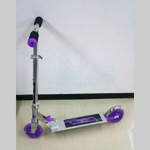 光るキックスケーター KICK SKATER パープル 紫 Radikal 光る キックスケーター キックボード 折りたたみ 乗り物 トイ おもちゃ スポーツ玩具 ギフト プレゼント
