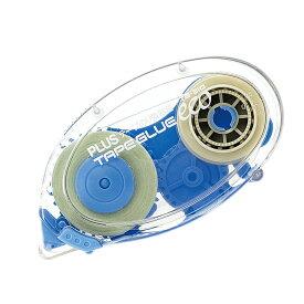 【メール便なら送料190円】プラス(PLUS)テープのり テープグル—エコ 本体 8.4mm幅 ブルー TG-310 37-383