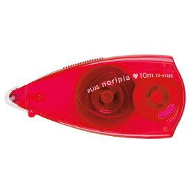 【メール便なら送料240円】プラス(PLUS)テープのり ノリピア 6mm幅 ピンク TG-510BC  37-751
