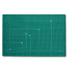プラス(PLUS) カッティングマット A3サイズ CS-A3 グリーン 48-584