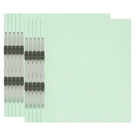 プラス(PLUS)エコノミー フラットファイル 10冊パック A4-S 150枚とじ ブルー NO.021E 79-355
