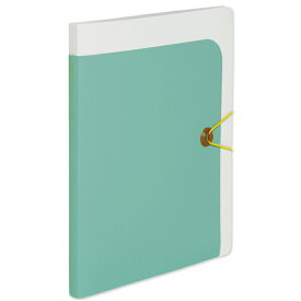 プラス(PLUS)クリアーファイル totoco A4 20ポケット 不透明 アクアブルー FC-116CFO 78-586