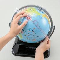 レイメイ藤井しゃべる国旗付き地球儀OYV403球径25cm