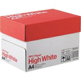 PPC用紙 ハイホワイト High White A4 1箱 500枚×5冊 2500枚 68g/m2 白色度93% コピー用紙